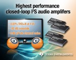 Image - TI 20-W stereo speaker amplifiers reduce BOM cost for mid-power audio applications