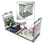 Image - Mike Likes: <br> Clever enclosure provides a stow-away workspace for multiple development boards