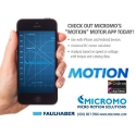 Image - MICROMO Launches Universal DC Motor Calculator App Called 'Motion'