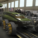 Image - Wheels: <br>TARDEC engineers envision future military mobility designs