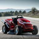 Image - Wheels: <br>Honda's custom Mean Mower shreds 'Fastest Lawnmower' world record