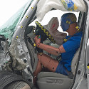 Image - Wheels: <br>Small overlap front crash test proves big challenge for midsize SUVs