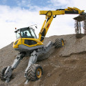 Image - Wheels: <br>Innovative hydraulics empower highly specialized spider/walking excavator