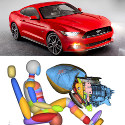 Image - Wheels: <br>Ford introduces innovative glove-box airbag design on new 2015 Mustang