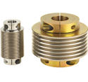 Image - Motion control components: Flexible bellows couplings