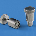 Image - Product: Spring-loaded plunger assemblies serve as positioning pins for sliding components