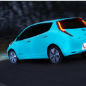 Image - Wheels: <br>Nissan parades around in glow-in-the-dark car paint