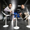 Image - Iowa State engineers study the benefits of adding a second, smaller rotor to wind turbines
