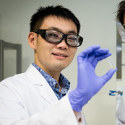 Image - Glue for wet environs hardens when zapped with electricity, can be easily 'uncured'