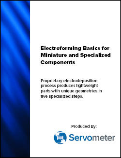 Image - Electroforming basics of miniature and specialized components white paper