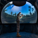 Image - Army tests virtual-reality dome's impact on Solider cognitive abilities