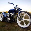 Image - Wheels: <br>Designing in the cool factor -- Custom Russian choppers use in-house CNC