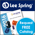 Image - Springs: New 2016 Lee Spring Midyear Catalog Available Now