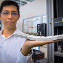 Image - Singapore scientists testing strong and durable bendable concrete