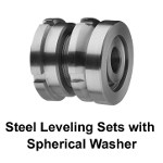 Image - Steel leveling sets with spherical washer