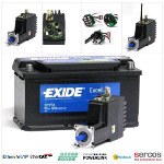Image - Adapt your motor to your application: Integrated 400-W servo motor with battery supply