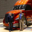 Image - SuperTruck Update: Aerodynamics focus boosts Navistar big-rig fuel efficiency 124%