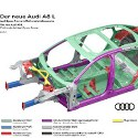Image - Wheels: <br>Milestones in lightweight design -- New mix of materials for Audi A8 space frame