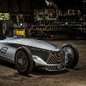 Image - Wheels: <br>INFINITI reimagines the 1940s racecar -- and then builds it