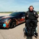 Image - Wheels: <br>Sam Schmidt, a quadriplegic, races Corvette 190 mph