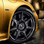 Image - Porsche is first to offer braided carbon fiber wheels