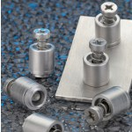 Image - Self-clinching captive panel screws -- easy access to stainless steel enclosures