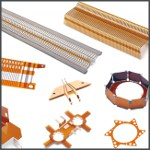 Image - Laminating precision parts with polyimide film for insulation and spacing