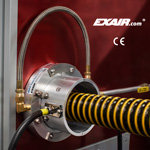 Image - 360-degree static eliminator is CE, UL, and RoHS certified