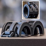 Image - Engineer's Toolbox: <br>3D printing nylon parts with living hinges