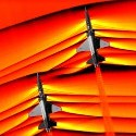 Image - NASA captures first air-to-air images of supersonic shockwave interaction in flight