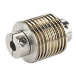 Image - Bellows flexible shaft couplings for precise movement
