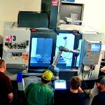 Image - Cobots load and unload Haas CNC machines