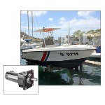 Image - Custom gearmotor lifts up to 10,000-lb boat