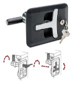 Image - All in one: New lift-and-turn compression latch