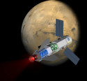 Image - Rocket powered by nuclear fusion could send humans to Mars