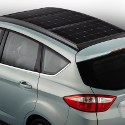 Image - Wheels: <br>Ford's solar car concept features its own concentrator car-port accessory
