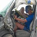 Image - Wheels: <br>Small overlap front crash test proves big challenge for midsize SUVs