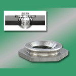 Image - Self-clinching flush nuts for stainless steel sheets