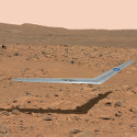 Image - Wings: <br>NASA gives insider look at Mars glider prototype