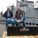 Image - Historic hydraulics: <br>Restoring WWII submarine with a RexPak hydraulic power unit