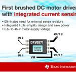 Image - Drivers: DC motor driver has integrated sensing