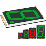Image - Displays: Thinnest seven-segment LED display