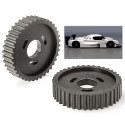 Image - Wheels: <br>Specialty polymers chosen for plastic engine project