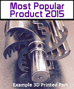 Image - No. 1 Most Popular Product of 2015: <br>3D metal printing -- Parts that are way tougher than stainless steel