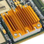 Image - Thermal: Heat sinks cool brick DC-DC converters