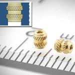 Image - Fasteners: Reusable metal threads for plastics