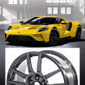 Image - Wheels: Carbon-fiber wheels offered on Ford GT supercar