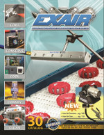Image - Compressed Air: EXAIR's new catalog 30 features cabinet coolers, conveyors, HEPA vacs, and air jets