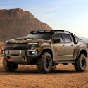 Image - Wheels: <br>Chevy fuel-cell modified pickup ready for extreme military field testing
