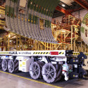 Image - Wheels: Airbus' giant Mecanum-wheeled transporters make moving big stuff look easy